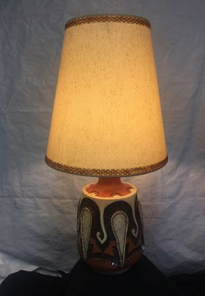 Antique/Vintage hand crafted ceramic lamp for Sale in Garden Grove, CA