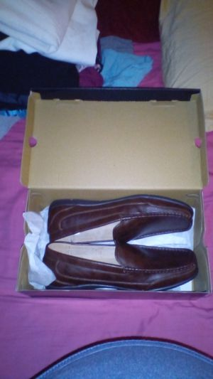 JK brown flex memory foam shoes new with tag 60 will take 30for them for Sale in Phoenix, AZ