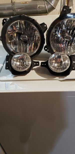 Jeep wrangler jl headlights and foglights for Sale in Monongahela, PA