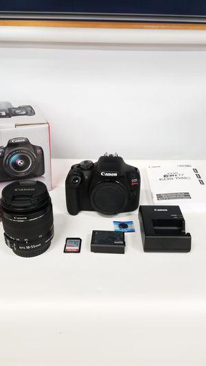 Canon Rebel T7 Digital Camera (777663-1) for Sale in Tacoma, WA
