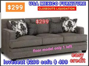 CLOSEOUTS LIQUIDATIONS ITEM LOVESEAT BRAND NEW BY USA MEXICO FURNITURE for Sale in Pomona, CA