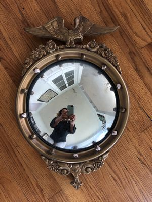 Antique eagle round mirror for Sale in San Diego, CA