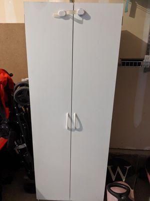 White shelves with doors for Sale in Draper, UT