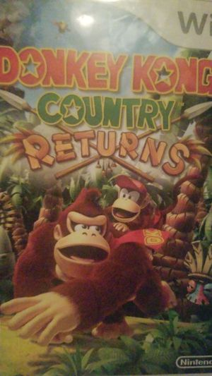 Donkey Kong Country Returns (WII) for Sale in Houston, TX