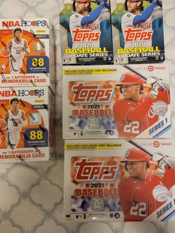 2020 / 2021 - NBA Hoops Basketball / Topps Baseball for Sale in Marysville,  WA