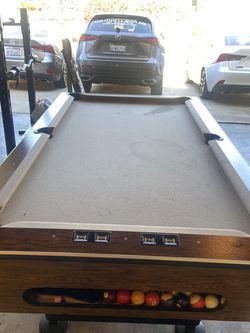 Pool Table For Sale. $150 Only. Located in Diamond Bar for Sale in Diamond Bar,  CA