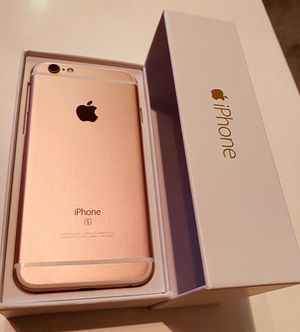 iPhone 6S 🌹 factory unlocked inbox PRICE IS FIRM@150$ NO OFFERS for Sale in Las Vegas, NV