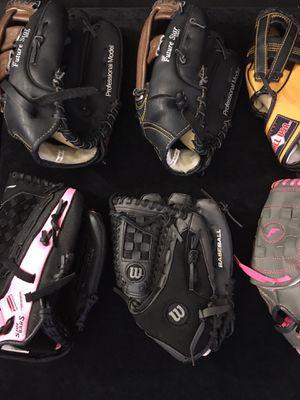 Baseball gloves for Sale in Mesa, AZ