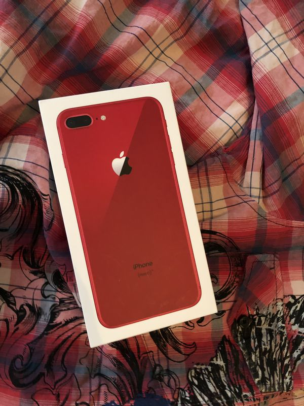iPhone 8 Plus Red brand new