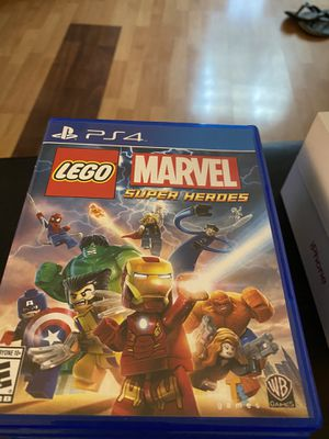 Kids game lego marvel super heroes ps4 for Sale in Hacienda Heights, CA
