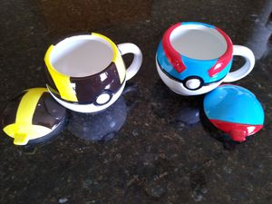 2 Collectable Pokemon mugs new (please read details) for Sale in Lakeland, FL