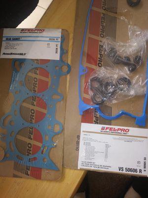 2001-04Honda civic D17 1.7L head gasket + Valve cover gasket set for Sale for sale  Stockton, CA
