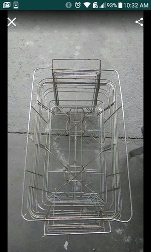 8 Food racks with some aluminium trays for Sale in Fort Lauderdale, FL