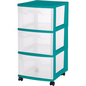 3 Drawer - Plastic for Sale in Plantation, FL