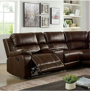New Sectional Couch with Recliners only $50 down payment for Sale in Hawthorne, CA