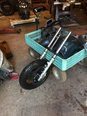 Front wheel suspension and brake motorcycle for Sale in Harpers Ferry, WV