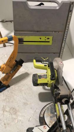 Table Saw, Miter Saw, And Flooring Staples Gun for Sale in Nashville,  TN