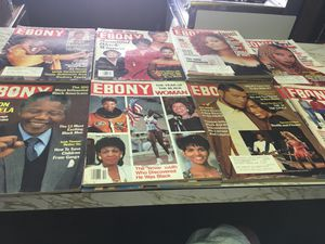 (20) Ebony Magazines 1990-1998 for Sale in Los Angeles, CA