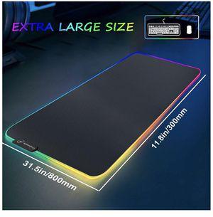 Extra Large RGB Lighting Waterproof Mousepad Gaming for Sale in Beaverton, OR