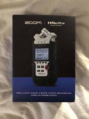 ZOOM H4n Pro Handy Recorder for Sale in San Francisco, CA