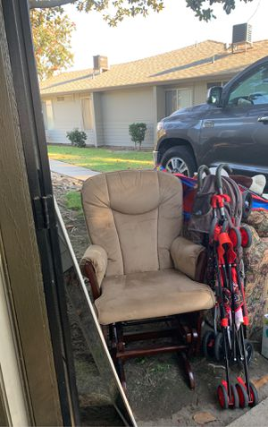 Chair w stool for Sale in Ceres, CA