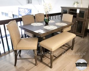 $1199 FREE DELIVERY! BRAND NEW ASHLEY DINING SET WITH BENCH for Sale in Oviedo, FL