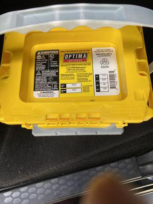 Optima D35 battery for Sale in MOUNT RAINIER, MD