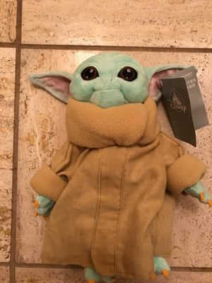 Disney Baby Yoda Plushie Toy, Official! for Sale in Anaheim, CA