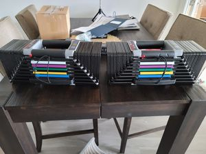 Powerblock elite 10 to 90 lbs for Sale in Rockville, MD