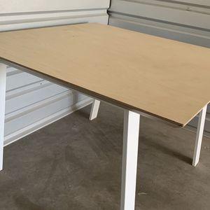 Custom Modern Baltic Birch Plywood w/ Metal legs Table for Sale in Phoenix, AZ