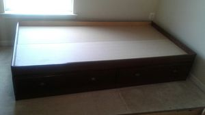 Twin Bed Frame With Storage Drawers for Sale in Middletown, MD