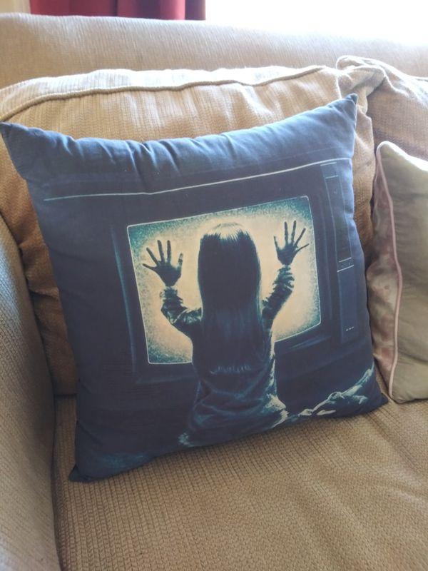 Poltergeist pillow 18x18 (Rare!)
