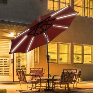 Outdoor Solar powered umbrella 🌂 for Sale in Citrus Heights, CA