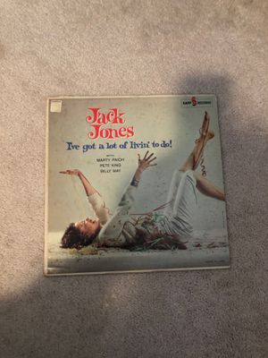 Jack Jones, I've got a lot of livin' to do! Record. for Sale in Puyallup, WA