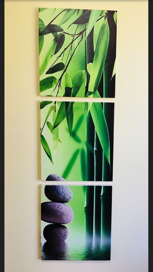 Lucky Bamboo Canvas Wall Decor Painting for Sale in Kirkland, WA