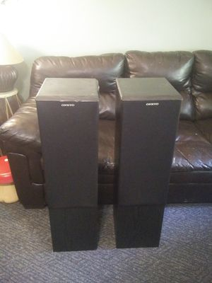 Onkyo tower speakers for Sale in Manchester, MO