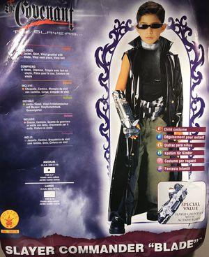"Slayer Commander ""Blade"" Child Costume in Medium for Sale in Temple City, CA"