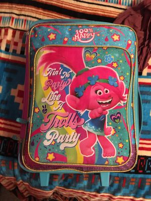 Trolls suit case maleta for Sale in Ferris, TX