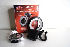 DLC 80 LED ring light / ring flash for Sale in Los Angeles, CA