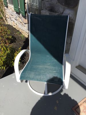 2 Gliding Lawn Chairs for Sale in Frederick, MD