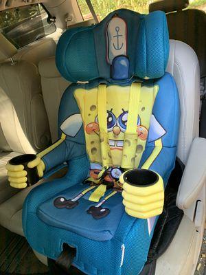 Spongebob car seat/ booster for Sale in Jonesboro, GA