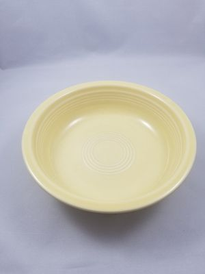 Retired vintage retro fiesta pale canary yellow ceral soup salad bowl for Sale in Chandler, AZ