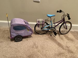American girl bike and pet carrier for Sale in Trenton, OH