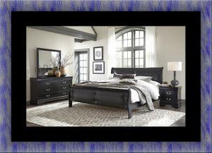 11pc Black Marley bedroom set for Sale in Rockville, MD