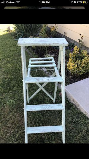 Ladder vintage distressed (mint green) 4ft for Sale in West Richland, WA