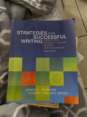 Strategies for successful writing for Sale in San Diego, CA