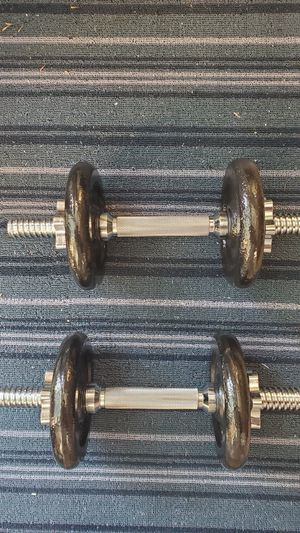 NEW PAIR 14LB DUMBBELL ADJUSTABLE 28lbs total WEIGHTS for Sale in San Jose, CA