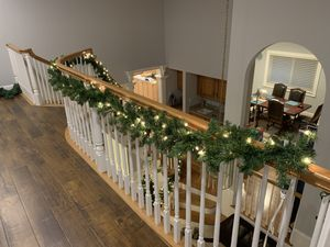 Christmas decorations- garland prelit $10- new for Sale in Castro Valley, CA