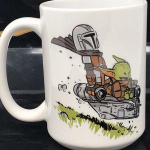 Baby Yoda The Mandalorian Star Wars 15oz Mug for Sale in Palmdale, CA