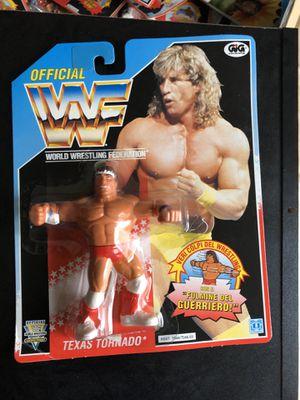 Texas Tornado WWF hasbro figure still on card for Sale in Seattle, WA